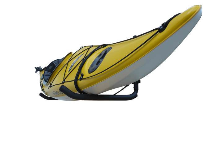 Sparehand KC 10 Wall Mount Kayak Storage Rack With Safety Strap, For 1 Kayak